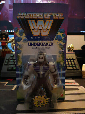 $49.99 • Buy Masters Of The WWE Universe Undertaker UNPUNCHED