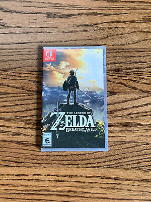 $41 • Buy The Legend Of Zelda Breath Of The Wild - Nintendo Switch (NEW & Factory Sealed)