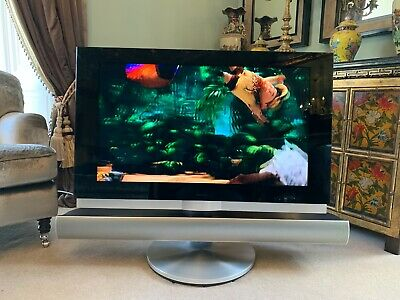 Bang & Olufsen Beovision 7 - 40 Tv With Sound Bar, Power Turning Stand & Remote. • 78£