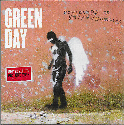 Green Day - Boulevard Of Broken Dreams   7  Picture Disc  2004 Unplayed • 3.21£