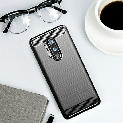 AU9.30 • Buy For Cover Oneplus 8 Pro Case For Oneplus 8 7 7T 5 5T 6 6T Carbon Fiber Shell