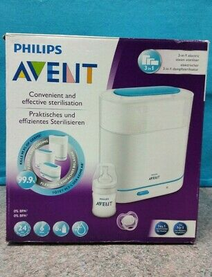 AU99 • Buy Philips Avent Express Electric Steriliser Scf285/02 *brand New*