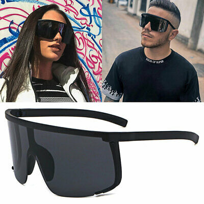AU17.99 • Buy Oversized XXL Shield Sunglasses Outdoor Cycling Goggles Mens Women Sport Glasses