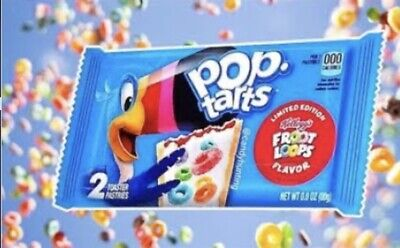 Pop Tarts Froot Loops (twin Pack)..Limited Edition • 1.69£