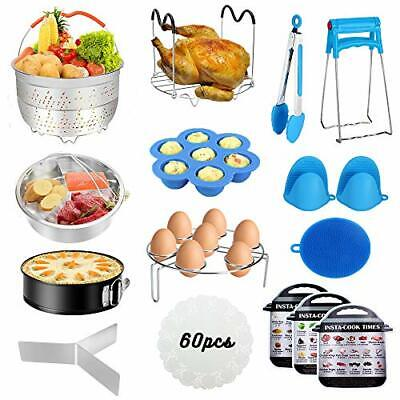 $47.50 • Buy 60 PCS Accessories For Instant Pot,Accessories Compatible With 5/6/8Qt New