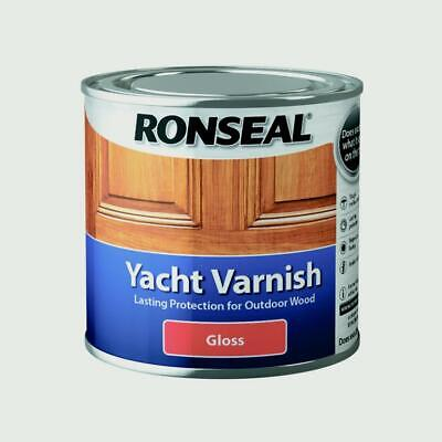 Ronseal Yacht Varnish Satin And Gloss 250ML / 500ML • 17.50£
