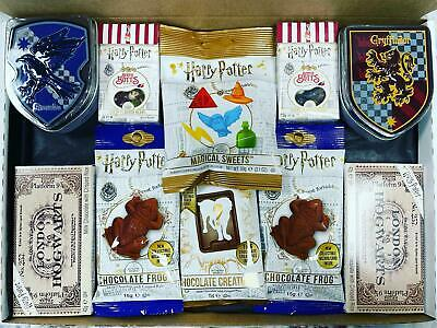 Harry Potter Sweets Personalised Bertie Botts Gift Box Houses Crest Candy Tin • 29.99£