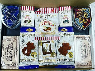Harry Potter Sweets Personalised American Gift Box Houses Crest Candy Tin • 36.99£