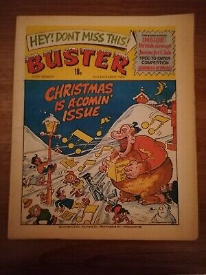 BUSTER Comic 22nd DECEMBER 1979 Christmas Is A Comin Issue  Rare 22/12/1979 • 3£