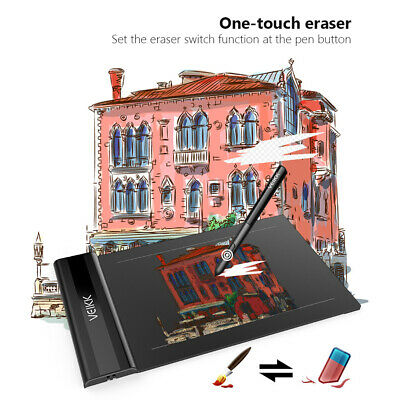AU43.11 • Buy VEIKK S640 Graphics Drawing Tablet 6*4 Inch Pen With 8192 Pressure Passive