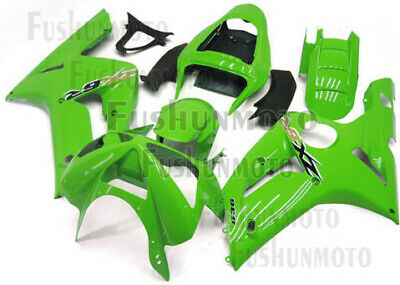 $479 • Buy Green ABS Injection Mold Bodywork Fairing Kit Plastic Fit For 03-04 ZX6R 636 A31
