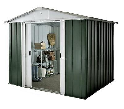Yardmaster The NO.1 Emerald Deluxe Apex Metal Garden Shed - Size 6'8 X 4'6  • 209.99£