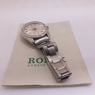 $ CDN3770.11 • Buy Vintage Rolex OysterDate Precision Steel Automatic Watch 6694 With Papers 1973