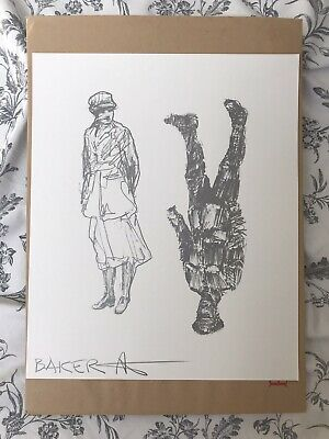 £40 • Buy Charming Baker - Nurse / Soldier 1colour Screen-print On Art Stock Paper, Signed