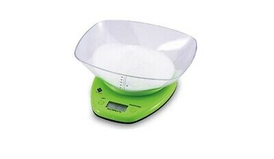 £9.99 • Buy Renberg Digital Kitchen Scale Weighing Bowl Tare Function Green RB-5602