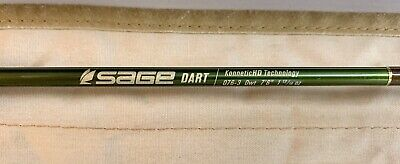 $650 • Buy Sage Dart 076-3 Fly Fishing Rod  0wt 7'6