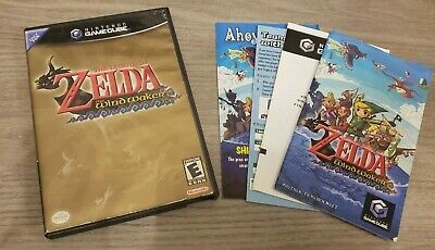 $58.99 • Buy The Legend Of Zelda The Wind Waker (GameCube 2003) Complete Tested