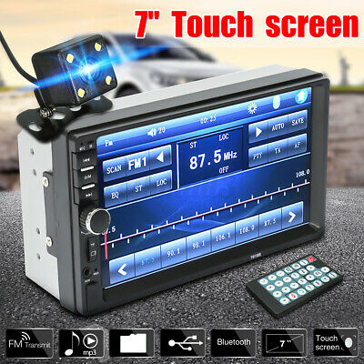 AU73.26 • Buy 7'' 2 Din MP5 Radio Player Double Car Stereo Head Unit Radio LCD Touch Screen