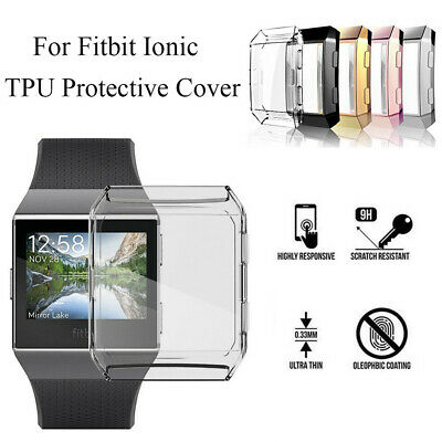 $ CDN5.28 • Buy Cover Screen Protector Protective Case TPU Shell Watch Frame For Fitbit Ionic