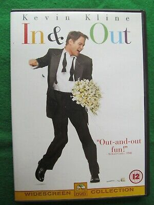 In And Out (DVD, 2001) Frank Oz, Kevin Kline, Tom Selleck - VGC • 4.99£