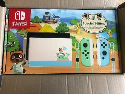 AU650 • Buy Nintendo Switch Console - Animal Crossing Special Edition BRAND NEW & SEALED
