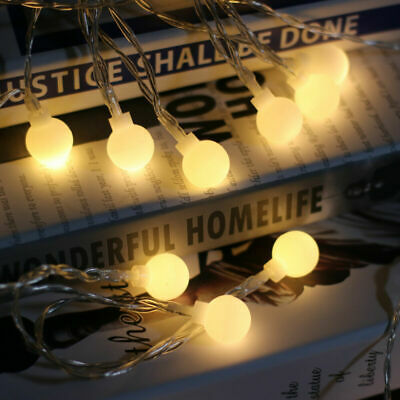 LED Star Battery Fairy String Lights Wedding Party Garden 8 Modes Outdoor Indoor • 6.01£