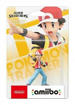AU57.50 • Buy Nintendo Amiibo Super Smash Bros. Series Figure - Pokemon Trainer For NS Switch