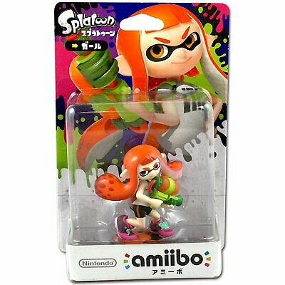 AU53.50 • Buy Nintendo Amiibo Splatoon Series Figure (Girl) For NS Switch