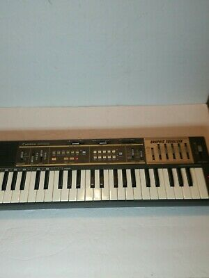 $75 • Buy Casio MT-100 Casiotone Keyboard Synthesizer Graphic Equalizer Works Great