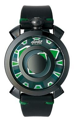 GaGà Milano Automatic Watch Mysterious Green 46MM Black PVD 9092.01 • 630£