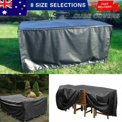 AU23.66 • Buy IN/Outdoor Furniture Cover Garden Patio Rain Snow UV Table Protector Waterproof