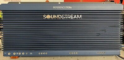 $ CDN669.74 • Buy Old School Soundstream Reference 705s 5 Channel Amplifier,RARE,USA,vintage