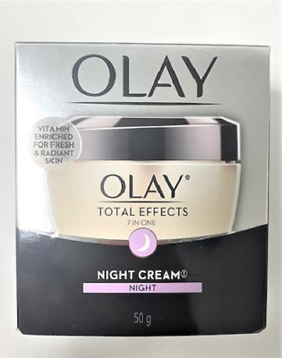 AU18.99 • Buy Olay Total Effects 7-in-1 Anti-Aging Night Firming Cream, 1.7 Oz