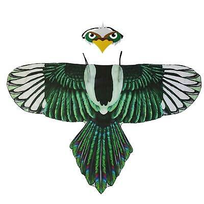 Green Eagle Wings Child's Cape, Fancy Dress Costume, Role Play, Summer Fun • 11.15£