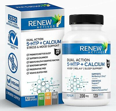 $ CDN19.99 • Buy Renew Actives 5HTP 200mg Supplement: