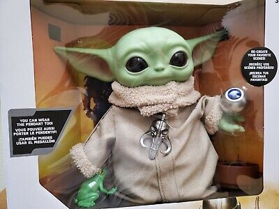 $49.99 • Buy Star Wars Mandalorian The Child Baby Yoda With Frog And Cup