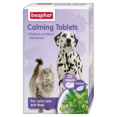 £8.85 • Buy Cats & Dog CALMING TABLETS 20's - Reduce Stress, Anxiety Firework