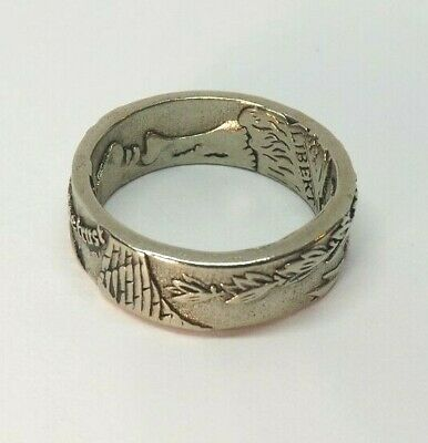 $15.95 • Buy Men's Size 8 Vintage Look Coin Style Ring