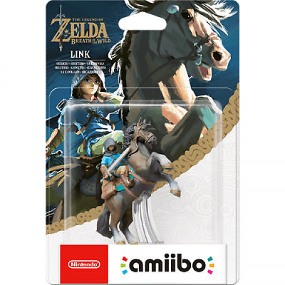 AU56.50 • Buy Limited Offer Nintendo Amiibo Legend Of Zelda Breath Wild Link Rider Switch Wii