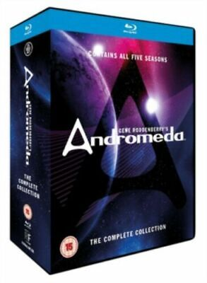 ANDROMEDA THE COMPLETE COLLECTION BLURAY 25 Disc BOXSET NEW SEALED • 59.95£