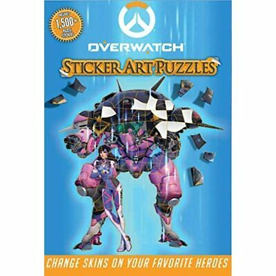 AU21.76 • Buy Overwatch Sticker Art Puzzles (Sticker Art Puzzles) - Paperback / Softback NEW P