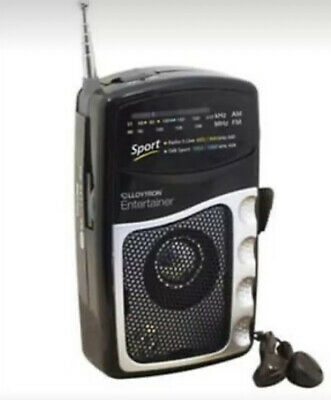 Lloytron Am/fm Battery Operated Portable Sports Radio With Earphones • 8.40£
