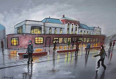 £125 • Buy Pete Rumney (Pete The Painter) Original Painting - Where Lowry Stayed