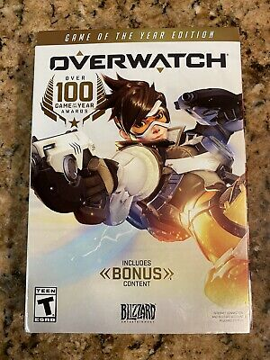 AU18.07 • Buy Overwatch PC Game Of The Year Windows DVD ROM Game Rated-T Blizzard Bonus *READ*