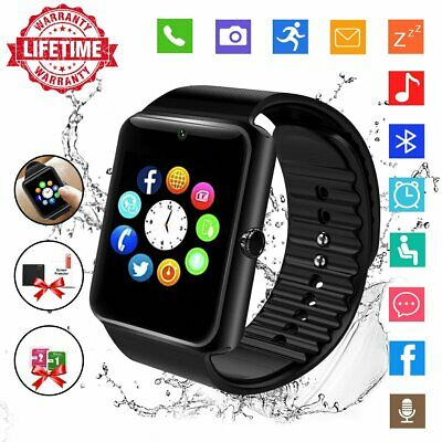 AU20.59 • Buy Smart Watch Touch Screen SIM Card Slot Activity Tracker & Camera Fit Kids Adults