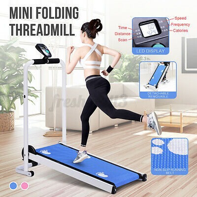 AU158.99 • Buy Folding Treadmill LED Display Fitness Home Sport Machine Walk Exercise Fitness