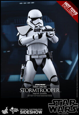 $198 • Buy Sideshow Hot Toys MMS 316 Star Wars First Order Stormtrooper Squad Leader MIB