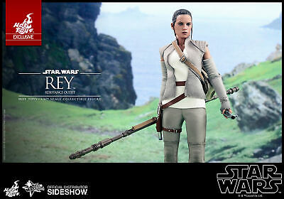 $270 • Buy Sideshow Hot Toys Rey Resistance Outfit MMS377 MIB Star Wars