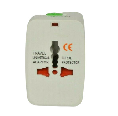 AU31.29 • Buy World Travel Universal Adapter Power Charger Surge Protector Electrical Plug