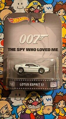 $ CDN10.02 • Buy Hot Wheels Retro 007™ The Spy Who Loved Me™ Lotus Esprit S1 Retro Entertainment
